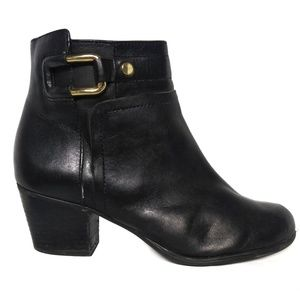 Franco Sarto Leather Ankle Boots size 7